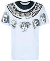 Versace cornici statue print T-shirt