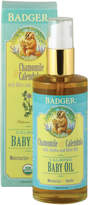 Badger Natural + Organic Baby Oil by 4floz Oil)