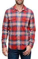 Lucky Brand Saturday Stretch Western Button-Down Shirt