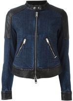 Diesel panelled denim jacket