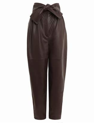 Zimmermann Resistance Leather Obi Pant