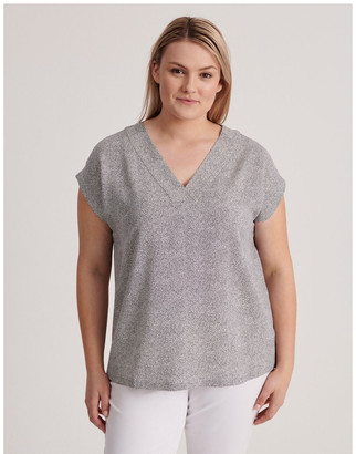 Regatta V-Neck Short Sleeve Top