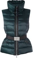 Moncler 'Tareg' padded gilet - women - Feather Down/Polyamide/Polyester - 0