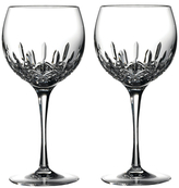 Waterford Lismore Essence Balloon Wine Glasses (Set of 2)