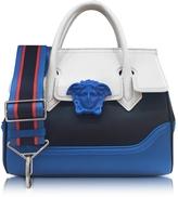 Versace Palazzo Empire Multicolor Leather Handbag
