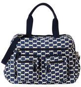 OiOi Eclipse Dot Carryall Diaper Bag in Blue