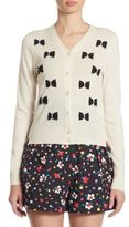 Marc Jacobs Wool Bow Cardigan