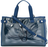 Armani Jeans perforated tote - women - Plastic - One Size