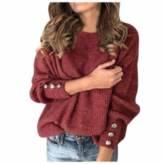 Youngaa Fashion Autumn Winter Warm Solid Color High Collar Pullovers Knitted Sweater Women Wool Knitwear Clothing Plus Size S-5xl Red