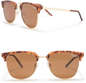 Quay Evasive 49mm Sunglasses