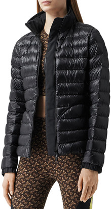 Burberry Bideford Puffer Coat with Packaway Hood