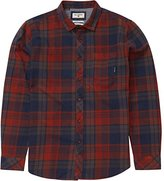 Billabong Men's Coastline Stretch Woven Flannel
