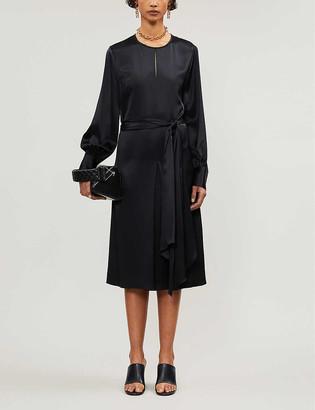 Joseph Victoria silk-satin midi dress