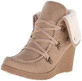 UNIONBAY Women's Pike Faux Shearling Lace-Up Boot