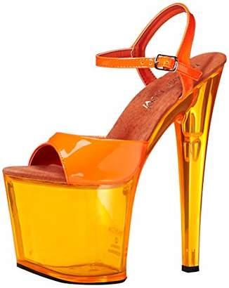 The Highest Heel Women's Fantasy-101 6 Inch Platform Sandal