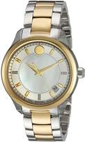 Movado Women's Bellina Museum Wrist Watches with Silver Band