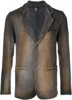 Avant Toi single breasted blazer - men - Cotton/Linen/Flax/Polyamide/Merino - L