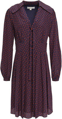 MICHAEL Michael Kors Silk Crepe De Chine Shirt Dress
