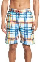 Tommy Bahama Men's Baja Plaid Skills Board Shorts