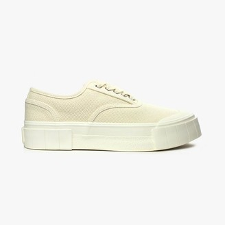 Good News Organic Cotton Sneakers In Oatmeal - 36