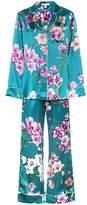 Olivia von Halle Lila silk pyjama set