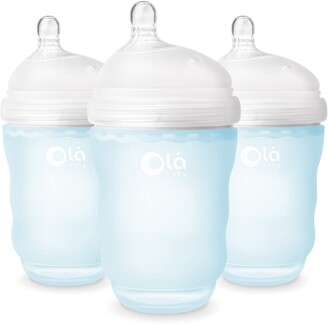 Olababy 3-Pack GentleBottle 8-Ounce Baby Bottles