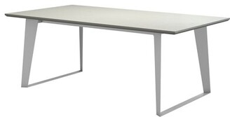 "Orren Ellis Salaam Rectangular 30"" Table Color: White"