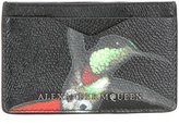 Alexander McQueen hummingbird cardholder - men - Calf Leather - One Size