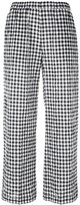 Aspesi checked cropped trousers - women - Cotton/Polyurethane - 40