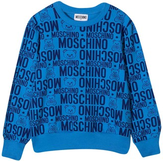 Moschino Blue Teen Sweater