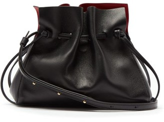 Mansur Gavriel Mini Protea Leather Cross-body Bag - Black