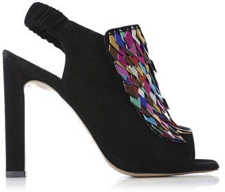 Moda In Pelle Shimmy Multicoloured Suede