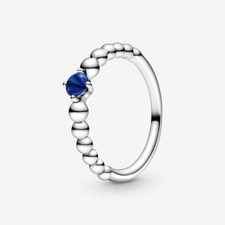 Pandora September Birthstone Beaded Ring