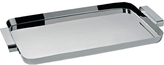 Alessi Tau rectangular tray with handles