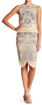 Nicole Miller Embroidered Pencil Skirt