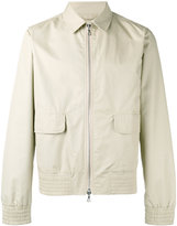 Officine Generale Harrington jacket - men - Cotton/Polyamide/Polyester/Viscose - L