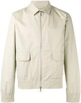 Officine Generale Harrington jacket - men - Cotton/Polyamide/Polyester/Viscose - M