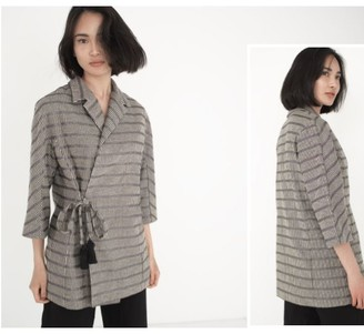 MONICA Cordera Cordera Cordera Ariane Jacket - Unique size - Grey/Black