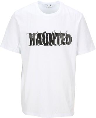 MSGM Haunted Print T-Shirt