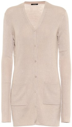 Joseph Ribbed-knit wool-blend cardigan
