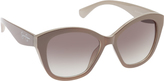 Jessica Simpson Women's J5338 Cateye Sunglasses