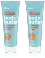 Bliss Blood Orange + White Pepper Body Butter Set Of 2