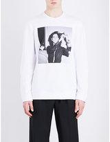 Raf Simons Patti Smith Cotton Sweatshirt