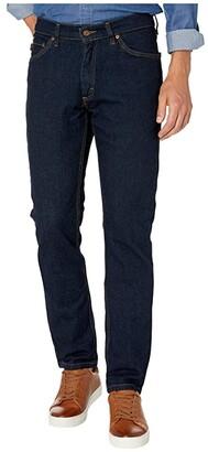 Timberland Modern Grit-N-Grind Flex Denim Slim Fit Work Pants (Dark Denim) Men's Casual Pants