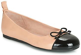 Citrouille et Compagnie LIOGE girls's Shoes (Pumps / Ballerinas) in Beige