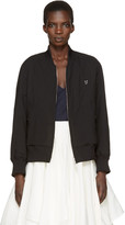 Undercover Reversible Black portrait In Jazz Bomber