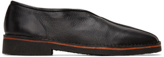 Lemaire Black V-Cut Slippers