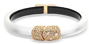 Alexis Bittar Crystal-Detail Bangle Bracelet