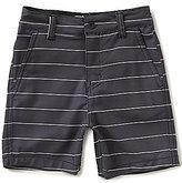 First Wave Little Boys 2T-7 Boardwalk Striped Shorts