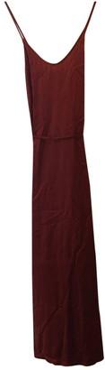 Raquel Allegra Red Silk Dress for Women